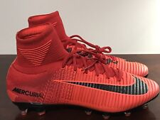 premium selection d83ac a4e1b Mens Nike Mercurial Superfly V 5 DF FG Fire Red Pack University Red Black  Size