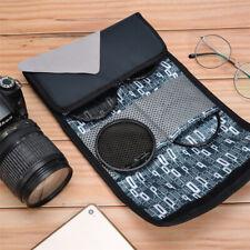 6 pockets Filter Wallet Case Bag Pouch Holder For Camera Filters Lens Shockproof