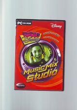 Radio Disney Musik Mix Studio-PC Spiel Software-Schnelle Post-komplett-sehr guter Zustand