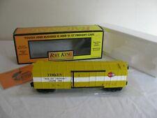 Vintage MTH Rail King O/O-27 Scale Timken Box Car #30-7477 NOS