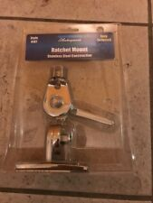 Shakespeare Style 4187 Stainless Steel Ratchet Mount for Marine Boat Antenna