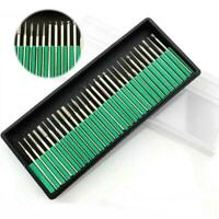 30 Nail Art Electric File Drill Bits Replacement Pedicure Manicure Kit Tool Sets