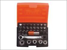 Bahco - 2058/S26 Ratchet Socket Bit Set of 26 Metric 1/4in Drive - 2058/S26