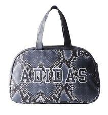 Adidas Women Originals LA Bowling Bag Python Print Blk gray Brand New With  Tags 4244d39630d2e