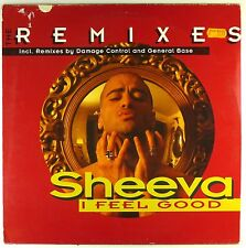 """12"""" Maxi - Sheeva - I Feel Good (The Remixes) - A3263 - washed & cleaned"""