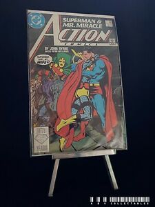 DC Action Comics Issue 593 (1987, Sex Tape Issue) BAGGED & BOARDED