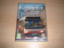 EUROPEAN BUS SIMULATOR ~ PC GAME PC DVD-ROM NEW SEALED