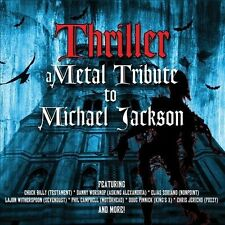 Various Artists - Thriller: A Metal Tribute to Michael Jackson [CD, 2013] Sealed