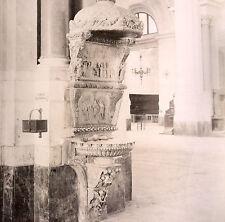 ITALIE PALERME CATHEDRALE FONTE DEL GAGINI circa 1870 signée
