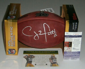 PACKERS Clay Matthews signed Super Bowl XLV football JSA COA AUTO Autographed