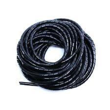 5.5 Meters 18' Black Spiral Cable Cord Organizer Wire Harness Organizer Wrap 8mm