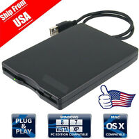 "New USB Portable External 3.5"" 1.44MB Floppy Disk Drive Diskette for PC Laptop @"