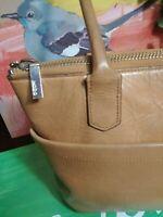"HOBO The Original woman light Brown Leather shoulder Bag 12x9"""