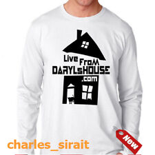 Live from Daryl's House American Music Show Rock Black White Dark Long T Shirt