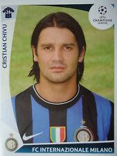 Panini 366 cristian chivu FC Internazionale uefa cl 2009/10