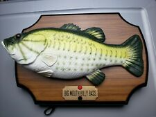 Vintage 1999 Gemmy Big Mouth Billy Bass Fish For Parts or Repair