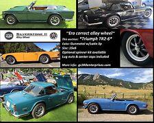 Triumph Alloy Wheel TR2,TR3,TR3A,TR4,TR4A,TR5,TR250,TR6  Silverstone II 4x114.3