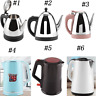 1.2/1.8/2L Fast Electric Tea Kettle Stainless Steel Hot Water Heating Boiler Pot