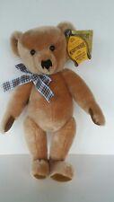 Merrythought teddy bear - Wellington Toffee