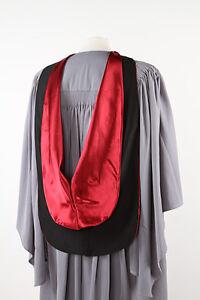 University academic hood - Free P&P - graduation gown accessory-10 colours+