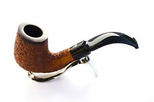 Smoking pipe pipes Mastro Geppetto rustic 02 curve briar handmade made in Italy