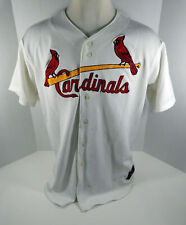 St. Louis Cardinals Blank # Game Issued White Jersey 48 STLC0453