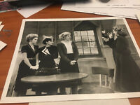 PHOTO PRESS RELEASE 8 X 10 PICTURE  TV SHOW GOODTIME GIRLS LORNA PATTERSON