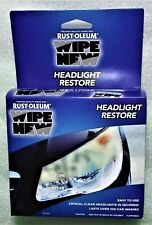 Free Shipping Rust-Oleum Headlight Restore Kit Rustoleum Discount on 2 or MORE