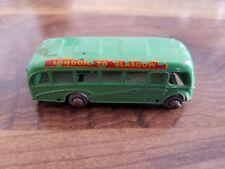 Matchbox Moko Lesney #21 Bedford Bus London to Glasgow