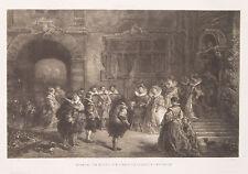 Jean-Baptiste Isabey Francia Parigi Katharina di medici fede guerre GUISEN