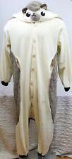 Sazac Hedgehog Kigurumi 1pc Costume PJs Halloween Hooded O/S Fleece Unisex Adult