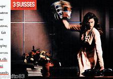 PUBLICITE ADVERTISING 115  1988  le pret à porter sur catalogue 3 SUISSES (2p)