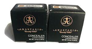 New Anastasia Beverly Hills Concealer #6.5 Two Pack .35 Oz Each Unit Make Up