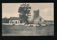 Somerset BERROW Church pre1919 PPC