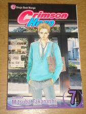 CRIMSON HERO VOL 7 VIZ MEDIA MITSUBA TAKANASHI SHOJO BEAT MANGA GRAPHIC NOVEL