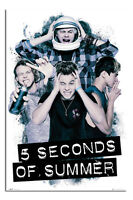 5 Seconds Of Summer 5SOS Headache Poster New - Maxi Size 36 x 24 Inch