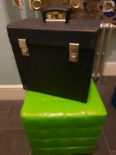 Vintage Vinyl Record Carrying Case