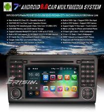 "AUTORADIO 7"" Android 8.0 octa core 2gb Mercedes Ml Gl w164 Navigatore dvd wifi"