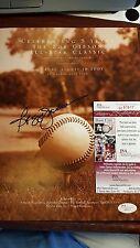 Reggie Jackson Autograph from Bob Gibson Classic Golf Benefit JSA COA