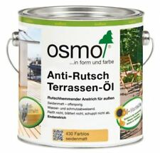 OSMO 430 Anti Rutsch Terrassen Öl Farblos 2,5 Liter