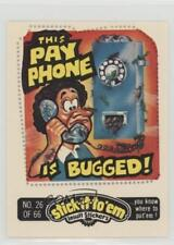 1976 #26 This Pay Phone is Bugged! Non-Sports Card 0a2