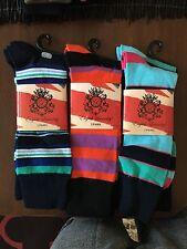 (6 PAIRS) Genuine English Laundry Men's Socks NEW (6 PAIRS)