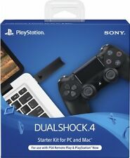 PS4 DualShock 4 Wireless USB Controller Starter Kit Sony for PC Mac New in Box