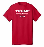 TRUMP 2020 FOR PRESIDENT ELECTION T-SHIRT TEES REPUBLICAN POLITICAL NEW USA
