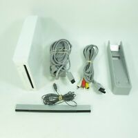 Nintendo Wii Gaming Console + Sensor Bar & Cables | RVL-001 (USA)