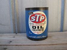 STP Oil Treatment Can Half Can Wall Shelf Decor Man Cave Decor B6115