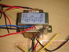0 - 250V - 300V AND 0 - 6.3V - 8V  AND 0 - 6.3V - 8V 1.5A 50VA POWER TRANSFORMER