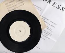 MADNESS - ONE BETTER DAY - WHITE LABEL PROMO + PRESS SHEET - STIFF SUGGS 2 TONE