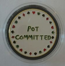 POT COMMITTED Poker Card Guard Protector
