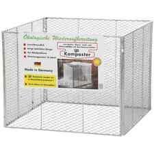 Brista Komposter feuerverzinkt 100 x 100 x 80 cm 922222 Streckmetall Kompost